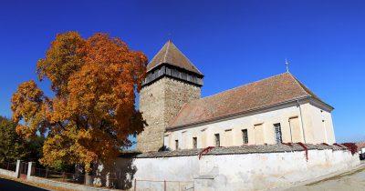 (COD 3359)  Biserica fortificată Bărcuț