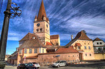 (cod 3830) Biserica fortificată Cisnădie
