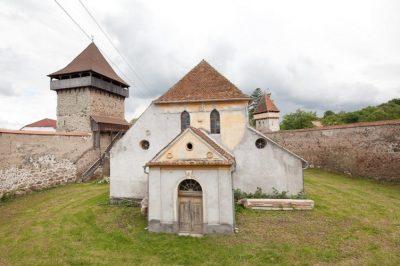 (COD 3366) Biserica fortificata, Cața