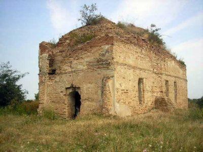 """(cod 3674) Biserica """"Sfinții Apostoli Petru şi Pavel"""" din Odobeşti"""