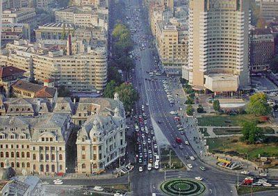(cod 4080) Bulevardul Bălcesu și Bulevardul Magheru