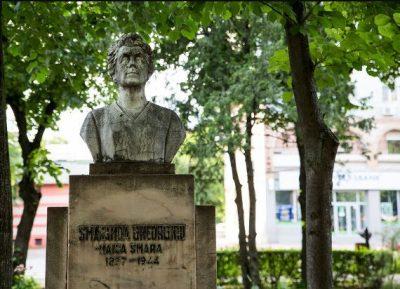 (cod 5310) Bustul Smarandei Gheorghiu, Parcul Mitropoliei