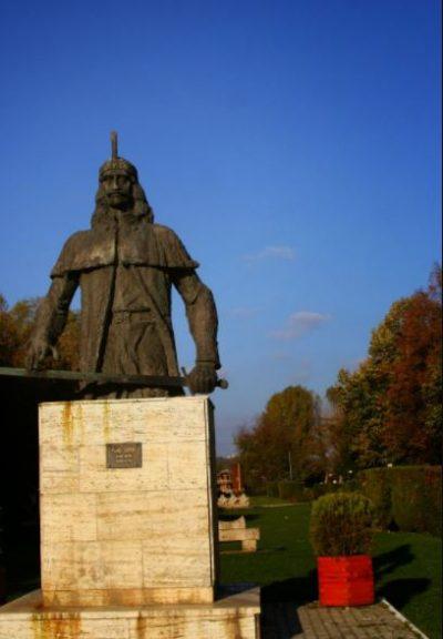 (cod 5312) Bustul Voievodului Vlad Țepeș, Parcul Chindia