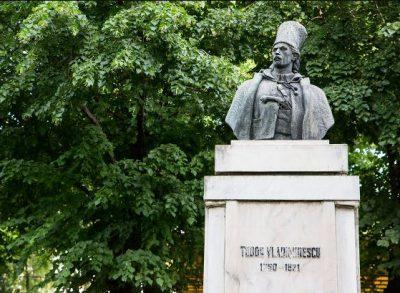 (cod 5311) Bustul lui Tudor Vladimirescu, Parcul Mitropoliei