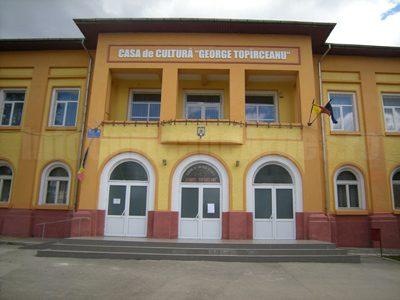 (cod 4505) Casa de cultură George Topârceanu
