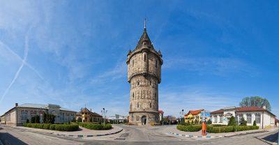 (cod 6528) Castelul de apă Severin