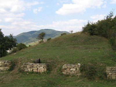(cod 2753) Cetatea Dacică de pe Bâtca Doamnei