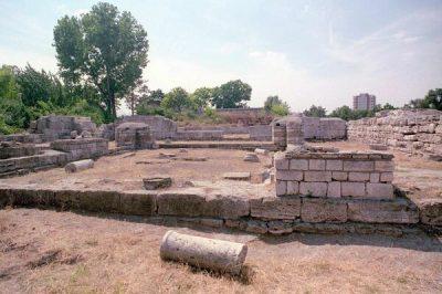 (cod 5012) Cetatea antică Callatis, Mangalia