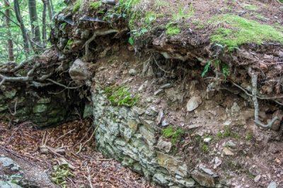 (cod 3395)  Cetatea medievala de la Breaza