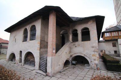 """(cod 4510)  Curtea Domnească şi Ansamblul Mănăstirii """"Negru – Vodă"""""""