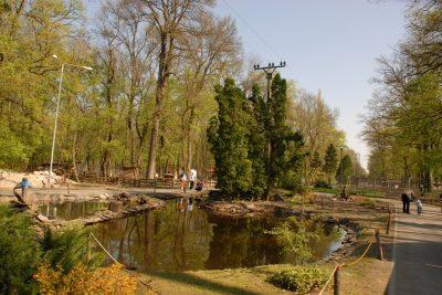 (cod 6116)  Grădina zoologică din Timișoara