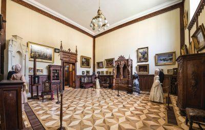 """(cod 3525) Muzeul de Artă Veche Apuseană """"Inginer Dumitru Furnică-Minovici"""""""