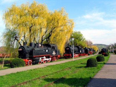 (cod 2410)  Muzeul de locomotive, Reșița