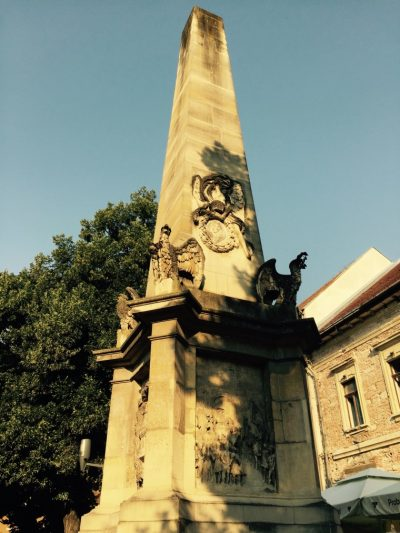 (cod 4921) Obeliscul Karolina