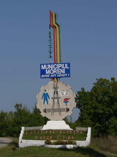 (cod 5349) Orașul Moreni