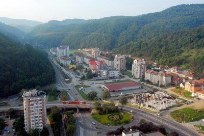 (cod 2454)  Orașul Reșița
