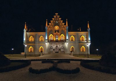 (COD 2099) – Palatul Cuza de la Ruginoasa Iasi