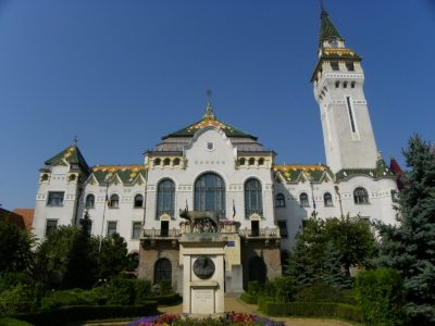 (cod 5941)  Palatul Prefecturii -Târgu Mureș