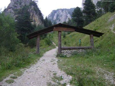 (cod 2810) Rezervația Naturală Cheile Șugăului