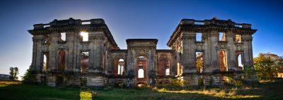 (cod 3767) Ruinele palatului Cantacuzino- Florești