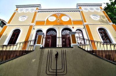 (cod 6678) Sinagoga și comunitatea evreiască din Tulcea
