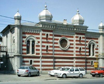 (cod 6132) Sinagoga din cartierul Iosefin