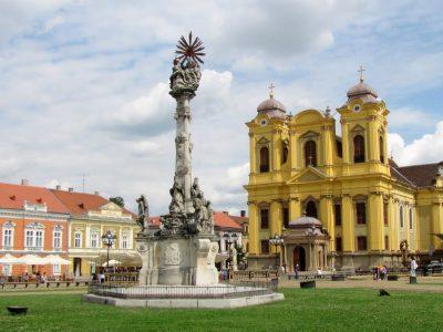 (cod 6136) Statuia Sfânta Treime