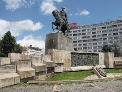 (cod 4946) Statuia ecvestră a lui Mihai Viteazu