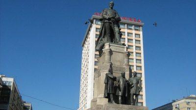 (COD 2079) – Statuia lui Alexandru Ioan Cuza din Iasi