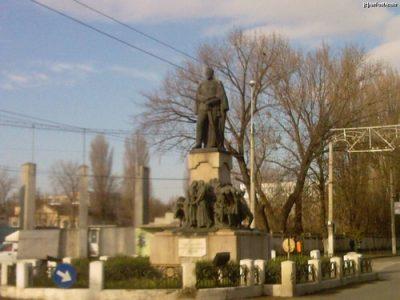 (cod 3956) Statuia lui Alexandru Ioan Cuza