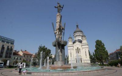 (cod 4948) Statuia lui Avram Iancu