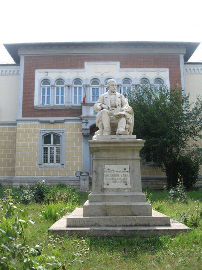 (COD 2081) – Statuia lui Gheorghe Asachi Iasi