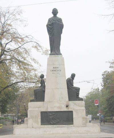 (COD 2082) – Statuia lui Mihai Eminescu Iasi