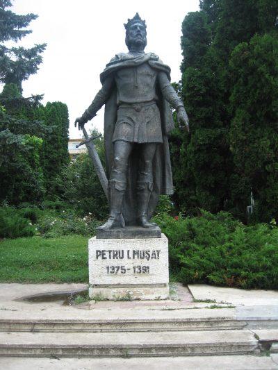 (COD 3015) – Statuia lui Petru Musat Suceava
