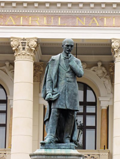 (COD 2088) – Statuia lui Vasile Alecsandri Iasi