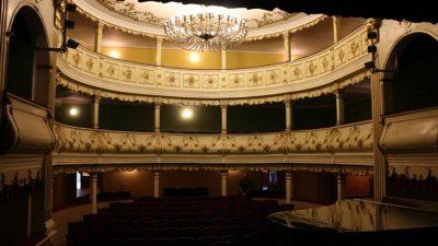 (cod 2427) Teatrul Vechi, Oravița