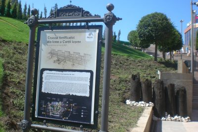 (COD 2178) – Traseul fortificatiei din lemn a Curtii iesene Palas