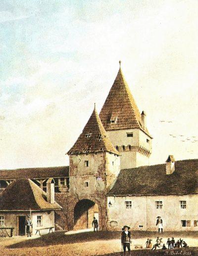 (cod 4330) Turnul Porţii Cişnădiei