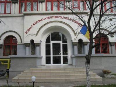 (cod 4149) Școala Națională de studii Politice și Administrative