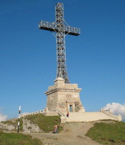 (cod 3729) Crucea Eroilor Neamului, (Caraiman)
